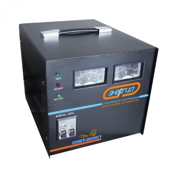 Стабилизатор напряжения Энергия СНВТ-3000/1