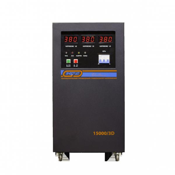 Стабилизатор напряжения Voltron SVC-15000/3D